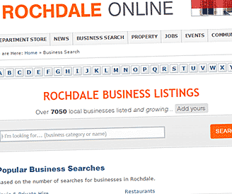 Advertise in Rochdale for FREE with a Rochdale Online Business Listing