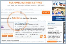 Premium Listing on Rochdale Business