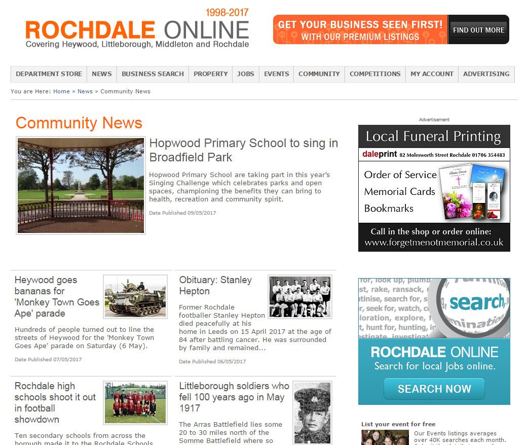 Rochdale dating online dejta i överraskning AZ