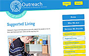Content Managed Website Design Manchester - Outreach Residential Services