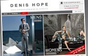 eCommerce Website Design - Denis Hope Rochdale