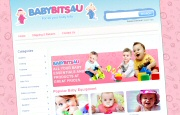eCommerce Website Design - Babybits4u