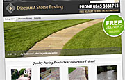 eCommerce Website Design - Discount Stone Paving
