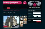 Estate Agent Website Design - Property At Kemp