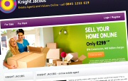 Estate Agent Website Design - Knight Jacobs