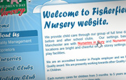 Web Design Rochdale nursery Fisherfield Farm