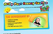 Rochdale Website Design - Molly Moo's Bouncy Castles