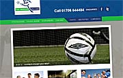 Web Site with CMS - Soccer Village