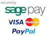Pay your invoice online with a credit/debit card or PayPal. We use SagePay to collect/process transaction information.