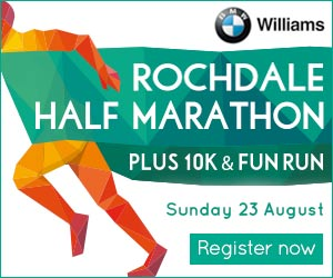 Rochdale Half Marathon plus 10k & fun run. Sunday 23rd August. Register now.