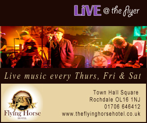 Live @ The Flyer. Live music every Thurs, Fri & Sat.