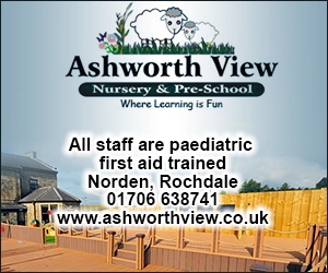 Ashworth View Nursery. All staff are paediatric first aid trained