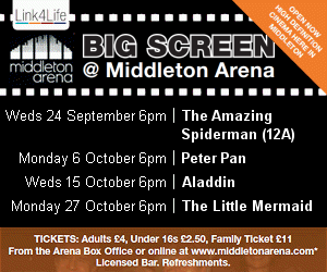 Big Screen @ Middleton Arena Monday Movies.