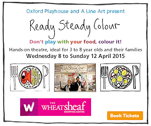 Oxford Playhouse and A Line Art presents Ready, Steady, Colour. Wednesday 8th April - Sunday 12th April @ The Wheatsheaf Centre