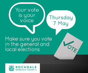 Your Vote is Your Voice. Make sure you vote in the general and local elections.