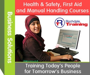 Business Solutions - Health & Safety, First Aid and Manual Handling Courses. Rochdale Training. Training Today�s People for Tomorrow�s Business.