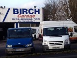 Birch Garage Logo