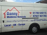 Danny Middleton Removals Logo