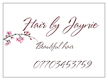 Hair by Jaynie  Logo