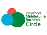 Heywood, Middleton & Rochdale Circle Logo