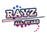 Rayz All-Stars Cheerleading Club Logo