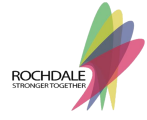 Rochdale Stronger Together Logo