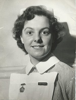 Staff Nurse Beryl Brealey -  later Sister on C1 ward.
