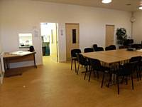 Animal Centre meeting room and kitchen