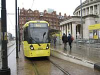 New tram 3003 at St Peters Square D Armstrong