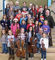 Rochdale Junior Youth Orchestra Christmas 2010