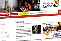 The new Manchester Cathedral website
