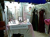 Desirable Bridal Wear stand at the Made in Rochdale trade fair