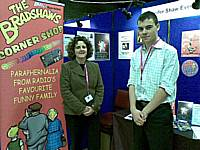 Jennifer Shaw Events stand at the Made in Rochdale trade fair