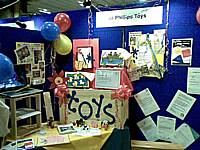 Jo Phillips stand at the Made in Rochdale trade fair