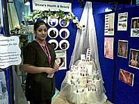 Shine Health Beauty stand at the Made in Rochdale trade fair
