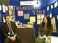 Treasured Time stand at the Made in Rochdale trade fair