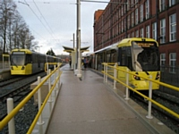 Four trams in Shaw stop! (see page for details)  Photo T Young