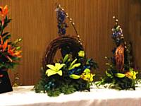 Inner Wheel flower arrangement