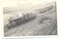 Am Ivatt mogul shunting at Clegg Street, Oldham, circa 1963/5. Photo M Riley