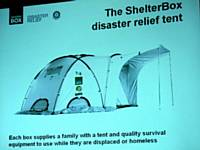 Shelter Box tent