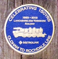 Photo 1 the celebratory plaque.  Photo Tony Young