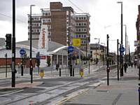 Central Tram Stop in Union Street 27.01.2014.   Alwyn Smith