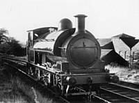 Lancashire & Yorkshire Railway No 752 at Heap Bridge, Heywood. R S Greenwood