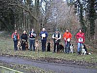 Members qualifying at the NW Championship Trial