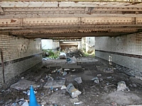 Before. Rochdale Station subway on the 1st September 2014. Richard Lysons