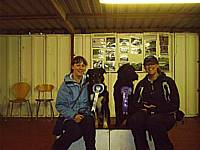 Joanne with Boomer and Shelley with Ben - Obedience Awards
