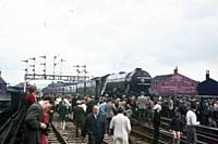 Flying Scotsman at Rochdale Station 1 June 1969. RS Greenwood