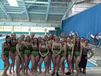 Yorkshire squad at Ladies National comp