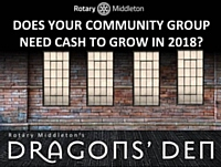 Rotary Club of Middleton launch Dragon's Den