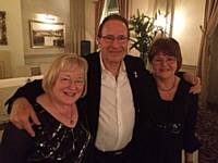 Members of our Book Club meeting Peter James at the Scarborough Literature Festival
